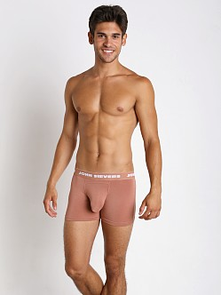 John Sievers SOLID Natural Pouch Boxer Briefs Mocha