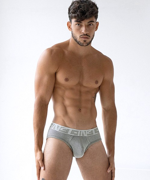C-IN2 Under-Tone Low Rise Brief Jimmy Grey