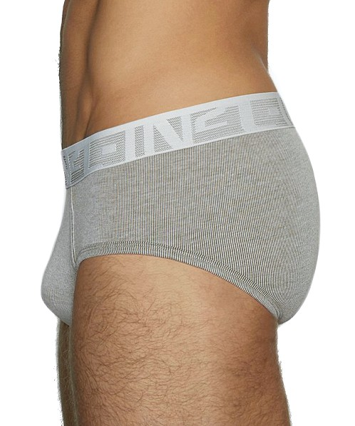 C-IN2 Under-Tone Mid Rise Brief Jimmy Grey