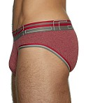 C-IN2 Zen Low Rise Brief Vincent Red Heather, view 3