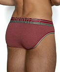 C-IN2 Zen Low Rise Brief Vincent Red Heather, view 4