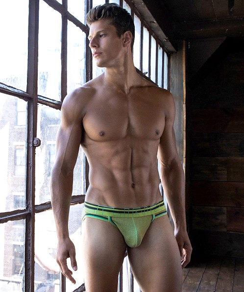 C-IN2 Zen Sport Brief Evan Green Heather
