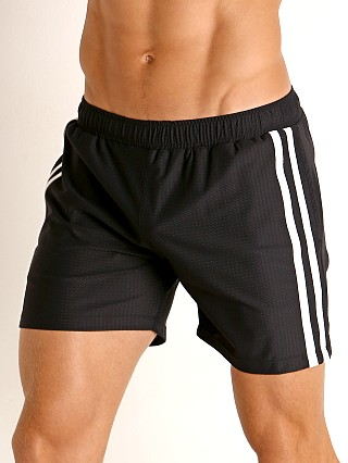 Complete the look: LASC Performance Mesh Active Shorts Black/White
