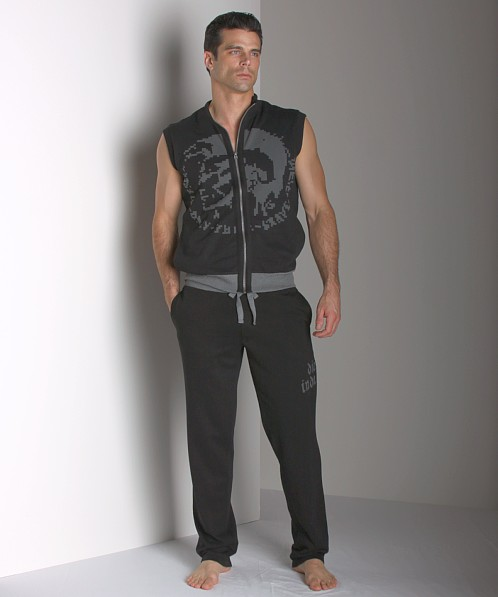 Diesel Mohawk Jay Lounge Sleeveless Shirt Black