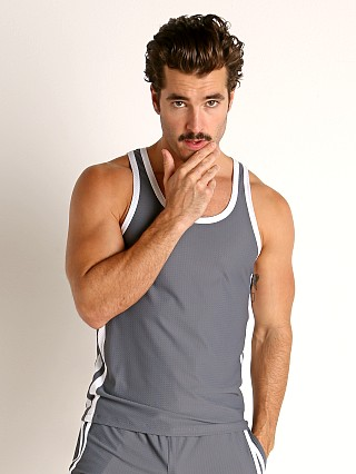 You may also like: LASC Performance Mesh Tank Top Grey/White