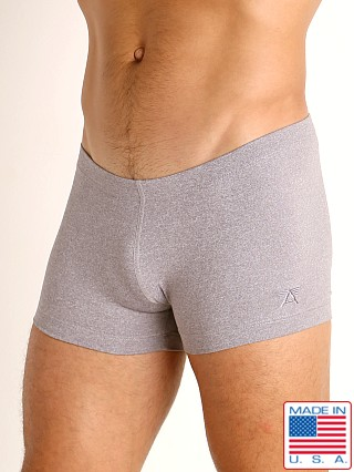 LASC Workout Micro Shorts Silver Heather