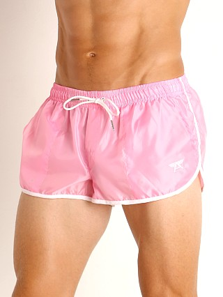 Complete the look: LASC Nylon Running Shorts Pink