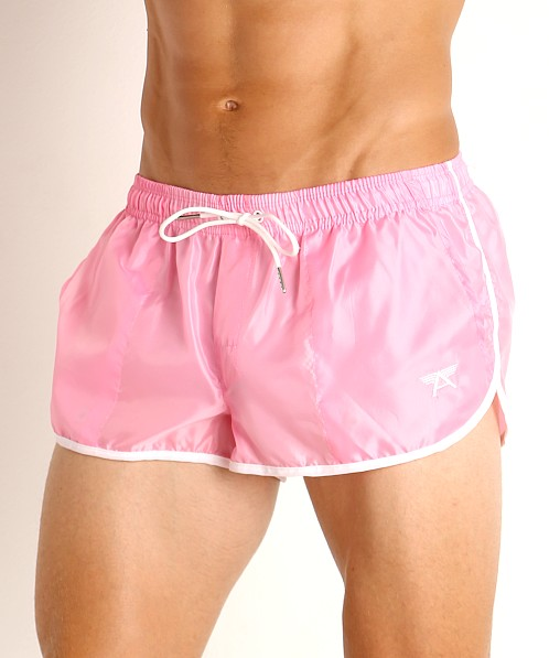 LASC Nylon Running Shorts Pink