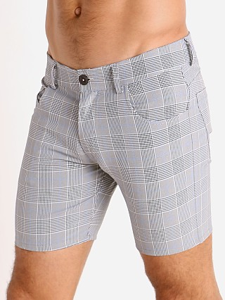 You may also like: LASC London Plaid 5-Pocket Shorts Grey/Blue