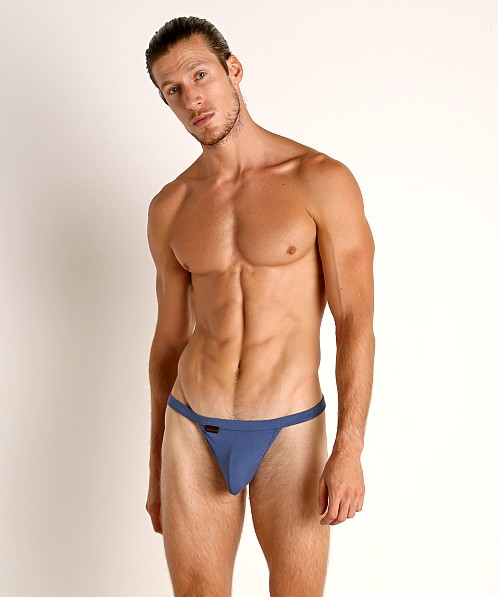 Jack Adams Modal String Thong Newport Blue