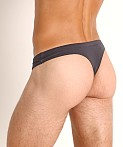 Jack Adams Modal Bikini Thong Charcoal, view 4