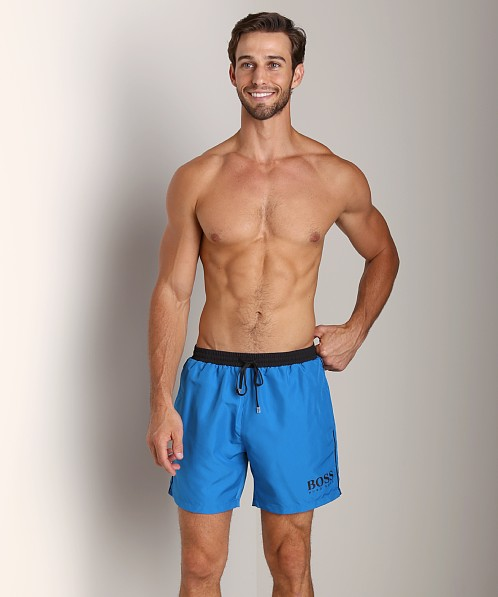 Hugo Boss Starfish Swim Shorts Blue