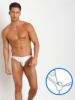 Joe Snyder MaxiBulge C-Ring Bikini White
