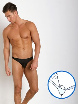 Joe Snyder MaxiBulge C-Ring Bikini Black