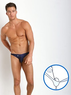Joe Snyder MaxiBulge C-Ring Bikini Navy