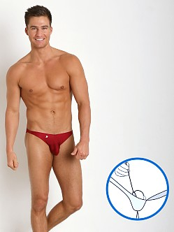 Joe Snyder MaxiBulge C-Ring Bikini Wine