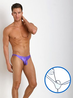 Joe Snyder MaxiBulge C-Ring Bikini Purple