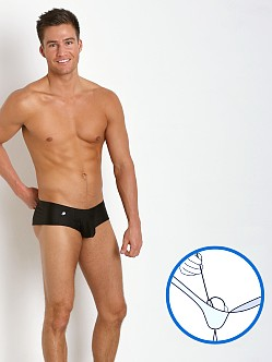 Joe Snyder MaxiBulge C-Ring Cheek Trunk Black