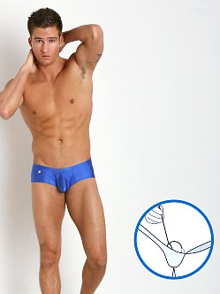 Joe Snyder MaxiBulge C-Ring Cheek Trunk Royal