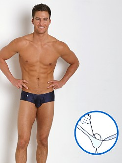 Joe Snyder MaxiBulge C-Ring Cheek Trunk Navy