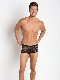 Male Power Stretch Lace Short Trunk
