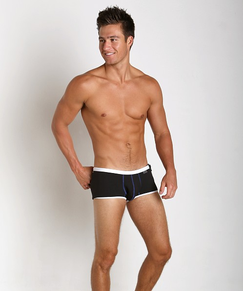 8bfe65b032 CockSox Enhancing Neoprene Swim Trunk Stealth Black CX08NP at International  Jock