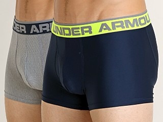 "Under Armour O-Series 3"" Boxerjock 2-Pack Academy/Heather"
