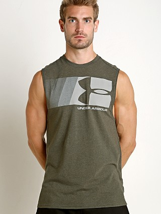 Under Armour Graphic Muscle Tee Artillery Green