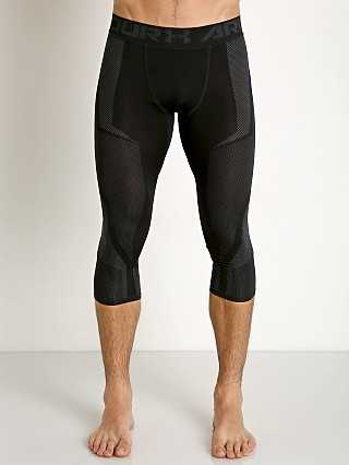 Under Armour Seamless Mesh Panel 3/4 Tights Black