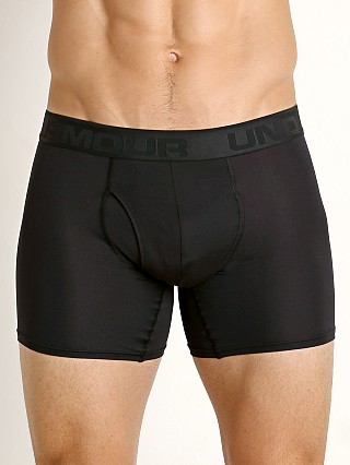 "Under Armour Microthread 6"" Boxerjock Black"