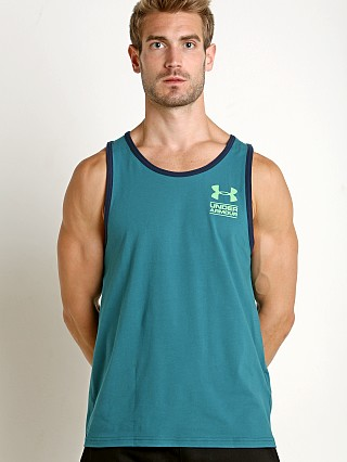 Under Armour Stacked Logo Tank Top Loft Teal