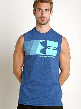 Under Armour Graphic Muscle Tee Moroccan Blue