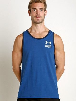 Under Armour Stacked Logo Tank Top Moroccan Blue