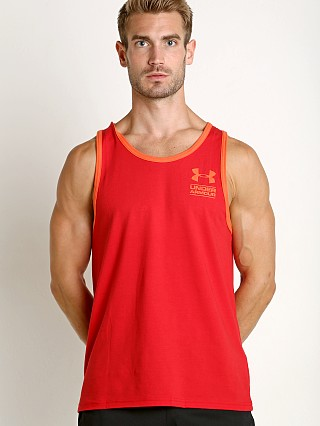 Complete the look: Under Armour Stacked Logo Tank Top Red