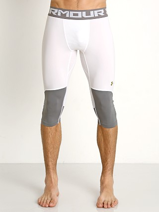 Under Armour Select Mesh Pouch Knee Tights White
