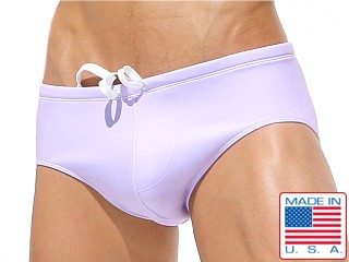 Rufskin Fin Drawcord Swim Brief Lavender