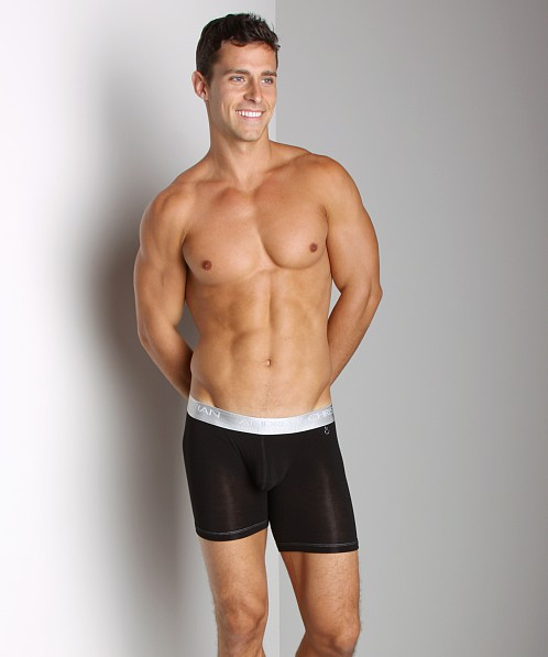 Andrew Christian Nano Fit Sports Boxer Black