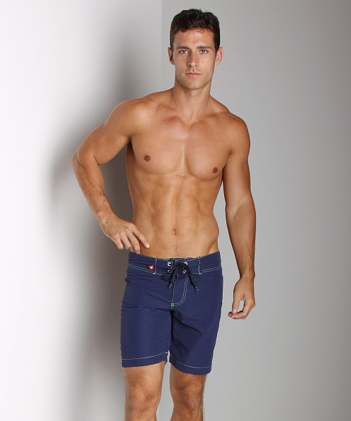 Andrew Christian Hudson Swim Shorts Navy