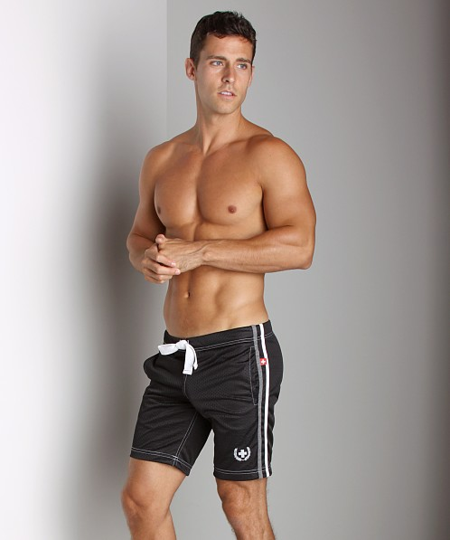 Andrew Christian Rugby Shorts Black