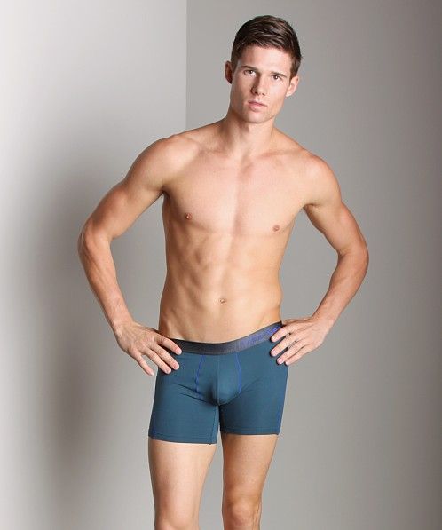 Calvin Klein Prostretch Reflex Boxer Brief Motor Blue