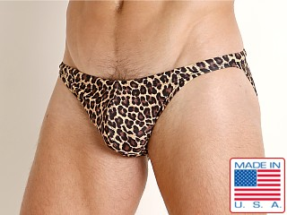 LASC Super Low Rise Swim Brief Cheetah
