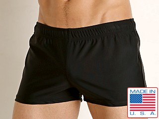 LASC Sun Runner Swim Trunk Black