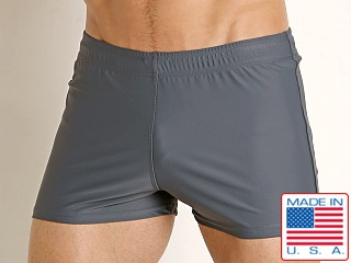 LASC Sun Runner Swim Trunk Charcoal