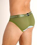 2EROS Aeolus Mesh Brief Green Gale, view 4