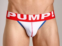 Pump! Hockey Jockstrap White
