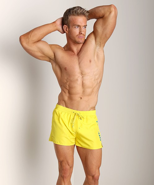 Diesel Coralrif Logo Swim Shorts Blazing Yellow