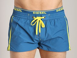 Diesel Barrely Swim Shorts Moroccan Blue