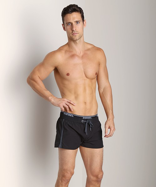 Diesel Barrely Swim Shorts Caviar
