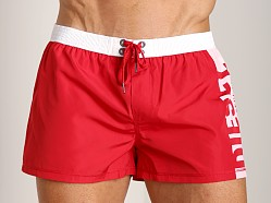 Diesel Coralrif-E Shorts Chinese Red