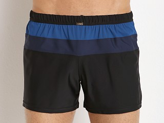 JM Waves Classic Loose Lycra Swim Trunk Mineral Blue